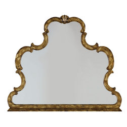 "Hooker Furniture - Hooker Furniture Sanctuary Mirror - Pursue serenity at home. Create your own personal sanctuary, a special place where you can experience comfort within. Poplar Solids and Mirror. Dimensions: 45.25""W x 2.38""D x 38.38""H."