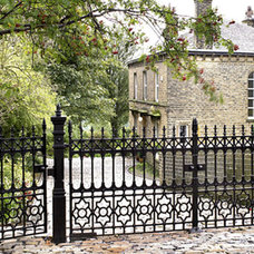traditional fencing Cast Iron Garden Gates