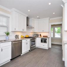 Modern Kitchen Cabinets by Designer/Kitchen King Inc.