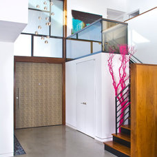 Contemporary Entry by Jeneration Interiors