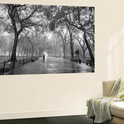 New York City Poet's Walk Central Park by Henri Silberman Mini Mural Huge Poster -