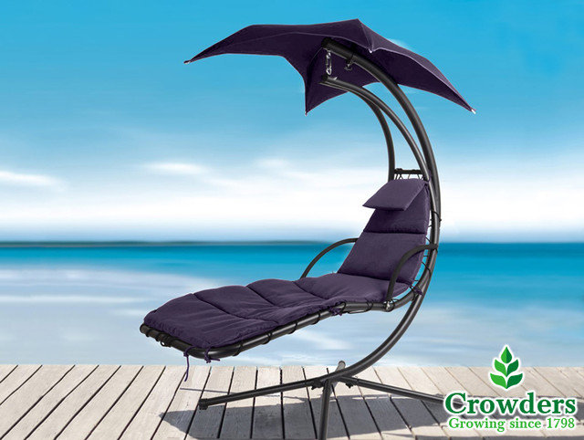 Contemporary Outdoor Chaise Lounges by crowders.co.uk