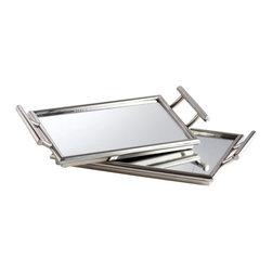 Cyan Design - Mirror Mirror Nesting Tray - Mirror mirror nesting tray - stainles steel