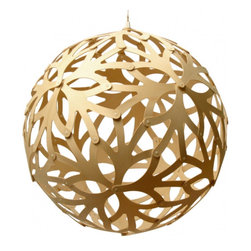 David Trubridge Foral 600 Pendant Lamp - I really love the natural color of this pendant Lamp. Though, for an extra $90, you can get it in pretty much any color to match your nursery.