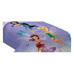 Franco Manufacturing Company Inc - Disney Fairies Sparkling Butterflies Twin-Full Bed Comforter - FEATURES: