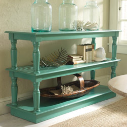 Somerset Bay Santa Rosa Server - This double buffet shelf provides a unique way to display your shoes and/or accessories. Pick your color and, voila, you have created fashion decor!