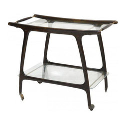 SOLD OUT! Mid-Century Modern Italian Bar Cart - $2,250 Est. Retail - $1,500 on C -