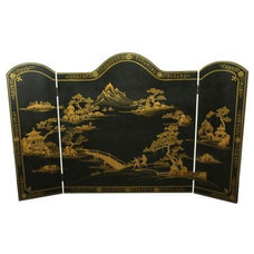 Asian Fireplace Screens by Oriental Furniture