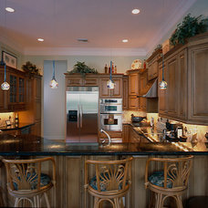 Traditional Kitchen Cabinetry by Ervolina Associates Inc