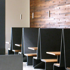 Modern Dining Benches by Concreteworks