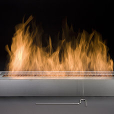 Contemporary Indoor Fireplaces by Moda Flame