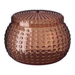 Sarah Fager - YNGAREN Jar with lid - Jar with lid, brown