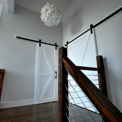 traditional staircase by Catskill Farms