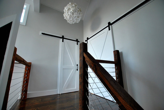 Rustic Staircase by Catskill Farms