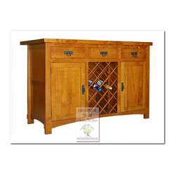 Mission Buffets and Sideboards - 100% HANDCRAFTED IN THE UNITED STATES BY OUR MASTER-CRAFTSMAN AND GUARANTEED FOR LIFE!