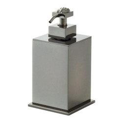 Versace - Versace Unique Bronze Liquid Soap Dispenser - Versace Toothbrush Holder / Beaker
