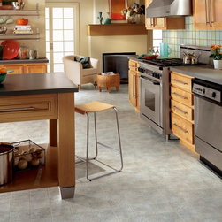 Armstrong Duality Vinyl Sheet Padua - Cinder Gray - The new Duality Premium vinyl floor has a fiberglass structure for high performance and 3D superior visuals for enhanced dimension, depth of color and definition.