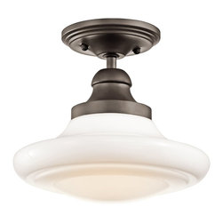 Kichler Lighting - Kichler Lighting 42269OZ Keller Transitional Pendant Light - Kichler Lighting 42269OZ Keller Transitional Pendant Light