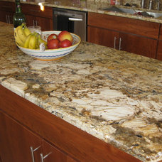 Contemporary Kitchen Countertops by Amy Shelton