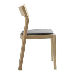 Case - Profile Chair - Without being forgetful, this chair is everything understated and elegant. The slight flare of the back legs and careful bow of the seat back are details that really distinguish a thoughtfully and beautifully designed piece.
