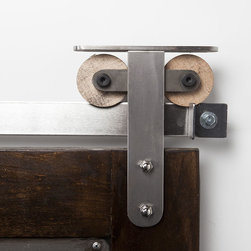 """barn door hardware - Lets just say the T Strap bdh fits to a """"T"""" any of your barn door hardware needs."""