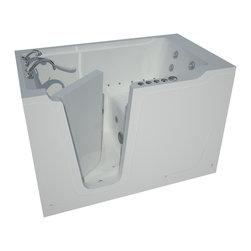 Arista - 36 x 60 Left Drain Whirlpool & Air Jetted Walk-In Bathtub - DESCRIPTION