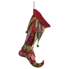 Eclectic Christmas Stockings And Holders by Grandin Road