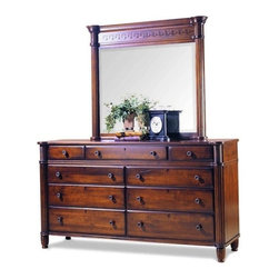 Durham Furniture - Durham Furniture Mount Vernon Dresser in Cunningham - Durham Furniture has been making solid wood furniture of the highest quality and enduring value since 1899. Our proud legacy of quality, integrity and dependability places us among North America&rsquos premier manufacturers of fine furniture.