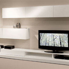 Modern Media Storage by Natuzzi/ Re-vive