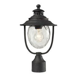 Elk Lighting - Elk Lighting 45042/1 Outdoor Post Light - Elk Lighting 45042/1 Outdoor Post Light