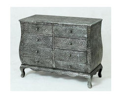 Bassett Mirror - Jasmine Gray 8 Drawer Chest - Jasmine Gray 8 Drawer Chest Bassett Mirror