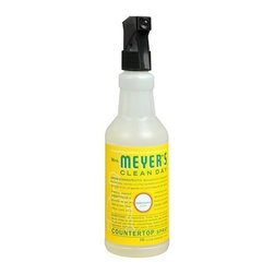 Mrs. Meyer's Clean Day Countertop Spray, Honeysuckle - Gift a set of luxury kitchen counter spray, dish soap, hand lotion and hand soap to the new homeowners. My personal favorite brand is Mrs. Meyers.