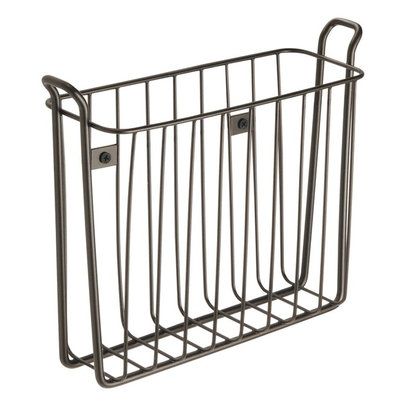 "InterDesign Classico Wall-Mount Magazine Rack,... $11.75. ""Keep books and"