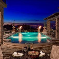 Mediterranean Pool by Pacific Stone Design Inc