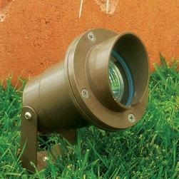 Dabmar - FG409 Low Voltage MR16 Landscape Directional Spotlight with Hood - FG409 Low Voltage Landscape Directional Spotlight with Hood