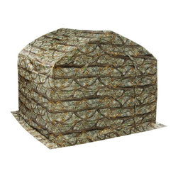 Flowerhouse - Flowerhouse Camouflage Greenhouse Slip Cover - 14338727 - Shop for Greenhouses from Hayneedle.com! The Flowerhouse Camouflage Greenhouse Slip Cover is made of durable nylon material and is ideal for protecting your plants and encourage flowering. It features an open bottom panel attractive woodland pattern and is ideal for reducing sunlight for flowering plants. It also helps keep them protected from wind snow and rain. Other features include ground stakes and zipper closures.