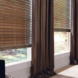 Horizontal Wood Blinds - PARKLAND™ GENUINE WOODS