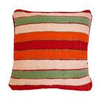 Baba Souk - Multi Stripes Moroccan Pillow - Striped Moroccan Pillow