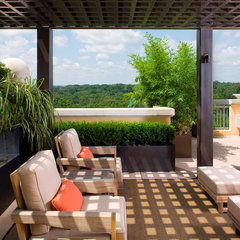 contemporary porch by Bellwether Landscape Architects