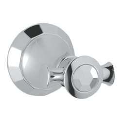 Grohe - Grohe 40226000 Robe Hook In Starlight Chrome - Grohe 40226000 from the Kensington Faucet Collection features refined styling with clean curves and simple lines providing a feel of understated luxury. The Grohe 40226000 is a Robe hook With a dazzling and highly reflective Chrome finish.