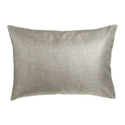 "Fino Lino Linen & Lace Soho Pillow, 16"" x 23"""