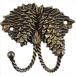 Sierra Lifestyles Decorative Hook - Pinecone - Bronzed Black - Get Idea About Sierra Lifestyles Decorative Hook - Pinecone - Bronzed Black. Sierra Lifestyles  Cabinet Hardware, Cabinet  Knobs, Cabinet Pulls , Switch plates, Rustic cabinet hardware, Double Hook, Hook, Decorative Hook, Knobs, Pulls and Decorative Hardware Accessories