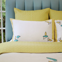 PURE by Ami McKay bedding - Product Design Ami McKay PURE Design Inc. Photography by Janis Nicolay