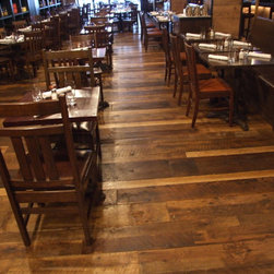 All-American Pub Floor in Oak - Lumber Jane Janice Tupper