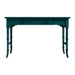 Stanley Furniture - Coastal Living Retreat-Table Desk - A graceful table desk handles household chores.