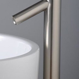 Model 1801 - Modern LED and Glass Waterfall Bathroom Basin Faucets -