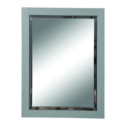 "DecoLav - Decolav 9719-SLT Briana Wall Mirror in Slate - Decolav 9719-SLT Briana Wall Mirror in SlateDECOLAV's Briana Collection is artfully crafted while not sacrificing style or function. The rectangular 24""Wx1.5""Dx32""H mirror is classic in style featuring a thick wooden frame. Its intriguing design adds the final touch to your bathroom style. Decolav 9719-SLT Briana Wall Mirror in Slate, Features:&#149 Part of the Briana Bath Furniture Collection"