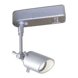 Nora Lighting - Nora NTL-323S Cabral II Low Voltage Track Fixture - Low Voltage Track Fixture with ClutchLoc secure angle locking mechanism.
