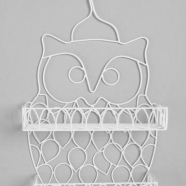 Owl Shower Caddy - It's a hoot to store your shampoo in style!