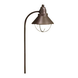 Kichler Lighting - Kichler Lighting 15239OZ Seaside Olde Bronze Landscape Path Light - Kichler Lighting 15239OZ Seaside Olde Bronze Landscape Path Light